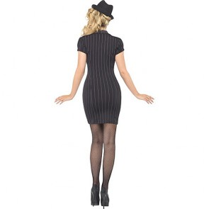 Fever Gangster Lady Costume-Small